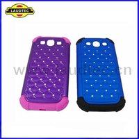 Funny Diamond Hard Cell phone Case Bling Case for Samsung Galaxy s3 i9300