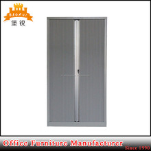 JAS-033 steel adjustable shelf plastic roller shutter for cabinet door cupboard