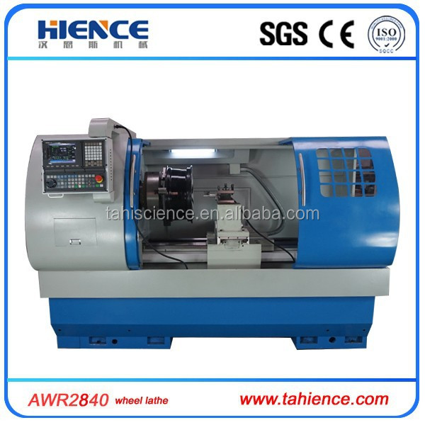 Training manual and video alloy wheel repair CNC lathe with probe AWR2840