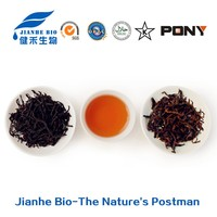 100%Water-soluble Camellia sinensis leaf extract Black tea extract with 95% Polyphenols and 80% Theaflavin