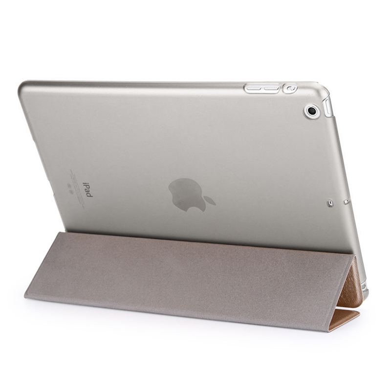 2017 New Accessories ultra thin Leather Flip cover for iPad Air2 tablet case