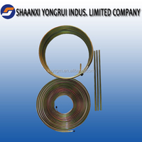 Manufactory spiral welded steel pipe with zinc coating in Shaanxi chinaof 3/16""