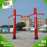 China supplier hot sale outdoor promotional inflatable air dancing man for event
