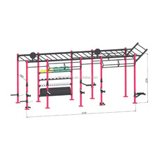 OKPRO Fitness Equipment Drilling Rig Pull Up Station Crossfit Rig