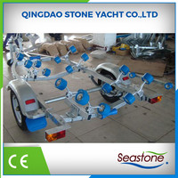 No Complaint China Galvanized Inflatable Boat Trailer