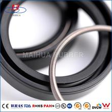 Nonstandard size NBR/SILICONE/FKM rubber crankshaft oil seal