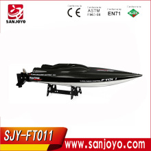 Rc Boat Feilun FT011 Brushless Motor Boat Water Cooling High Speed Racing Boat 65CM RTR 2.4GHz 50km/h SJY- FT011