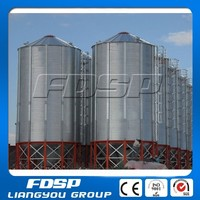 400-10000Tons Pig Feed Poultry Farm Used Steel Silo chicken feed storage bin