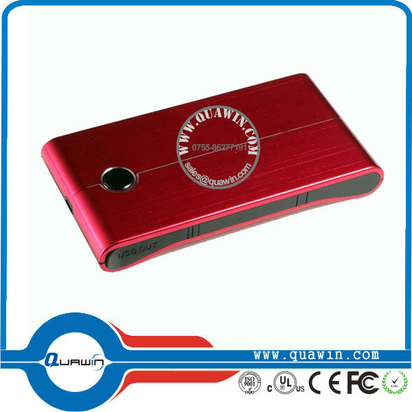 2013 new style product manufacturer moblie bank power 5000mah with 2 usb output