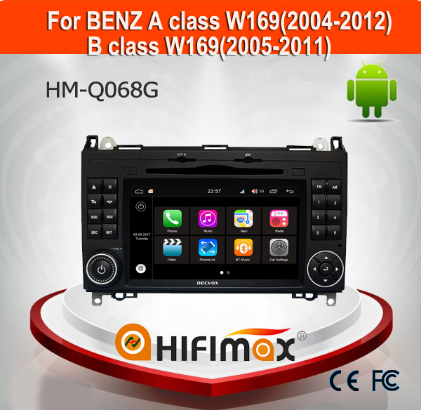 Hifimax Andriod 7.1 For Mercedes benz car dvd player for a class b class Vito/viano/sprinter for mercedes benz viano car radio