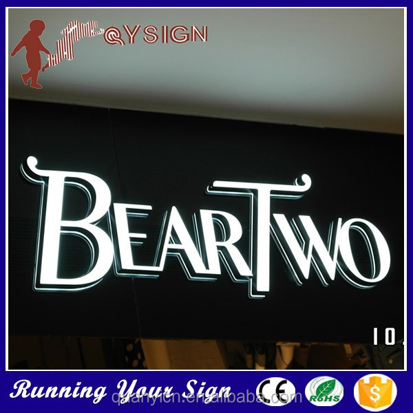 Easy to Install Good looking Brand Names led building sign light