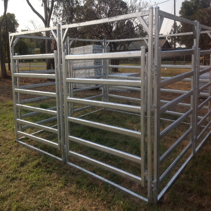 Livestock panel sheep fence Cattle yard sliding gate for yard