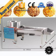 Automatic Machine Pop corn with wheels product line