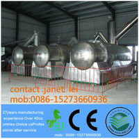 Continuous Crude Oil/tyre oil/waste engine oil to Diesel or Gasoline Distillation Plant