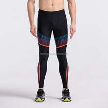Wholesale mens compression leggings gym running basketball base layer compression pant