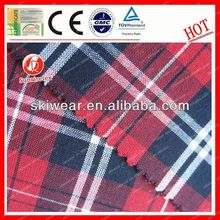 New Flameproof yarn dyed cotton suiting fabric for Clothes