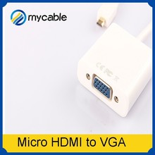 1080P High quality hdmi to 5.1 rca/ micro hdmi to vga adapter