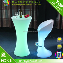 Professional manufacturer latest g4 rgb led light bulb plastic table chairs