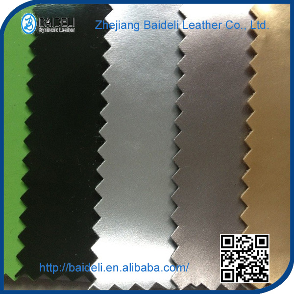 hight quality Pearl surface pvc leather for shoes