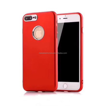 Smooth Moshi TPU Mobiles Phone Case For Apple Iphone 7 PlUS With Electroplated Button