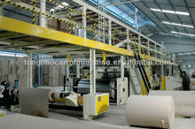 3/5/7 layers corrugated cardboard production line carton box making machine price