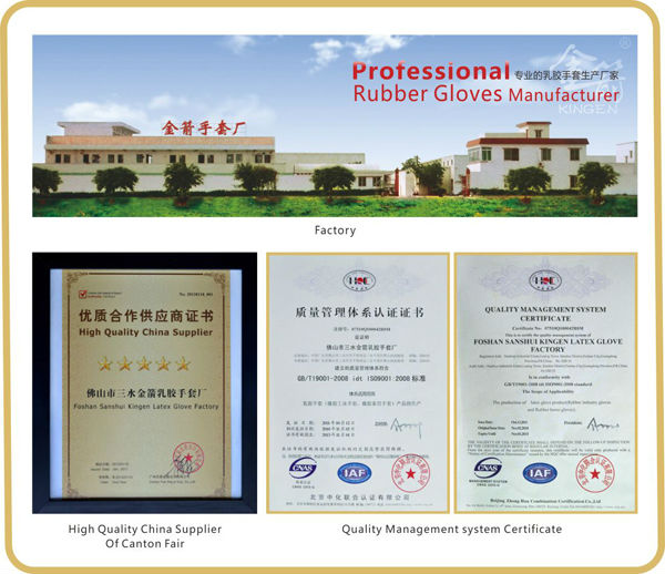 Wholesale Non Sterile Cheap Disposable Medical Latex Examination Gloves latex