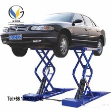 twin scissor car lift sound quality best price Car scissor lift Used auto scissor car lift