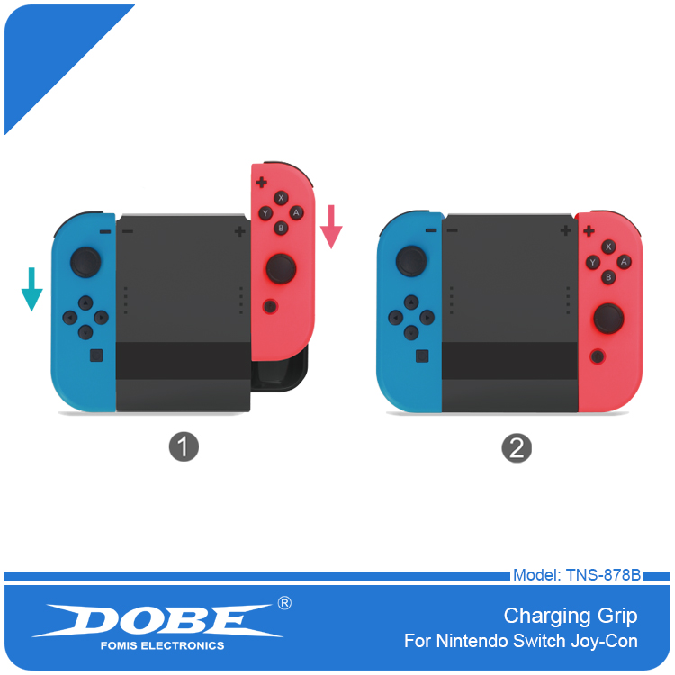 DOBE 2017 Hot New Products Typc C Joy Con Charging Grip for Nintendo Switch for <strong>N</strong>-switch Joy-con
