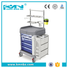 Molding Production ABS Hospital Cart Anaesthesia Medical Trolley