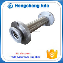 high pressure auto exhaust hose metal hose flange stainless steel flexible hose