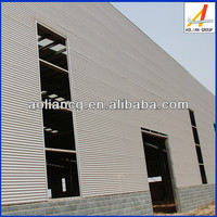 Environment protective light steel structure fabrication building