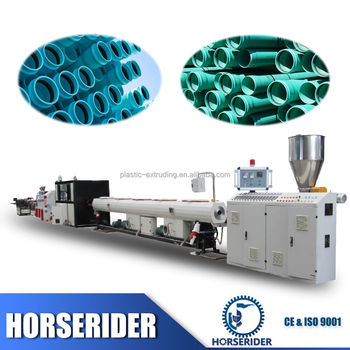 Hot sale CE ISO approved plastic pvc pipe tube fabrication machine with price