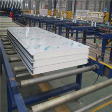fireproof color steel sheet pu polyurethane foam sandwich panel