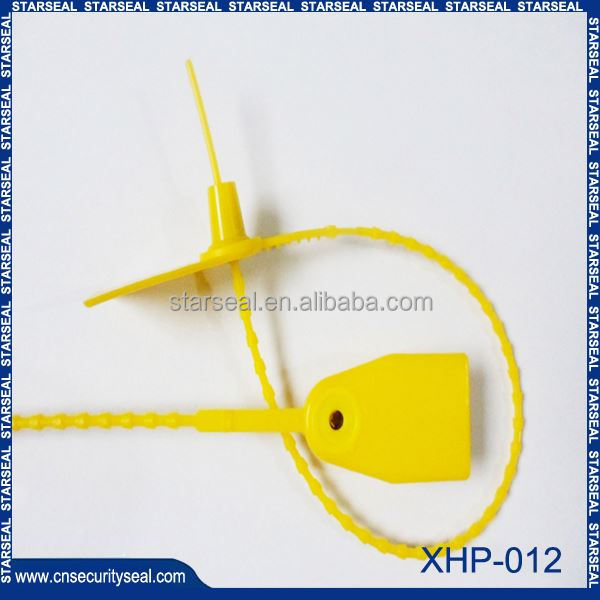 XHP-012 newest mould plastic security seals for cash bags