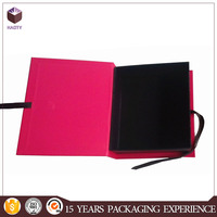 Book shaped gift paper box China for wallet