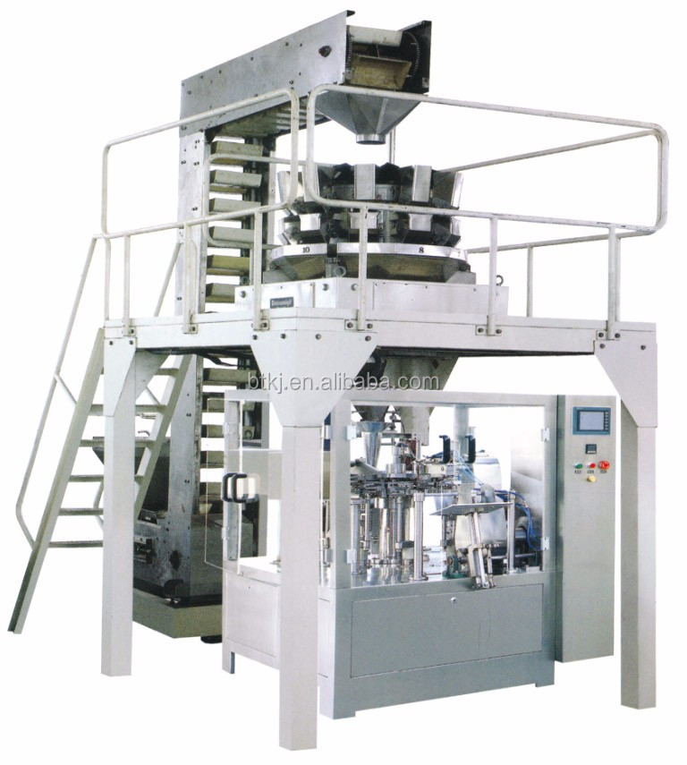 Multihead Weigher Nuts Sunflower Seeds Packing Machine