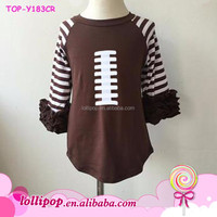Baby Apparel Football Raglan 3 4