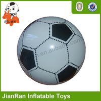 Promotional soft plastic inflatable toy soccer ball