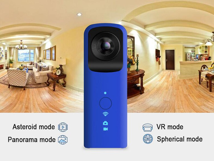 2017 Alibaba Good Price Dual Lens 1080P 360 panoview camera to be unique