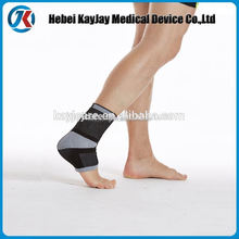 Knitting sport foot brace with silicon buttress pad online shopping