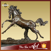 Large bronze animal horse statue for sale