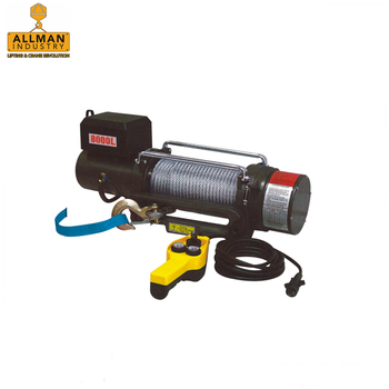 ALLMAN CE approved 2000lbs 3500lbs 5000lbs 8000lbs 10000lbs electric pulling winch