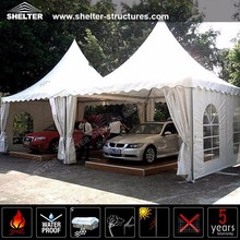 Easy up carport tent for temporary shade