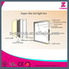 Acrylic super slim crystal light box online retail store