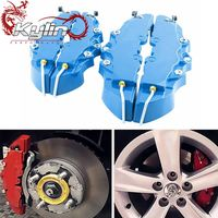 Ryanstar Racing Universal ABS 3D Disc Brake Caliper Covers fit for 15inch 16inch 17inch 18inch Car Disc Hubs