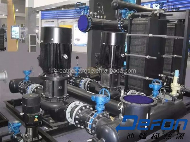 marine and industrial custom made low nature gas LNG heat exchanger tube fuel supply system for steam water cooler