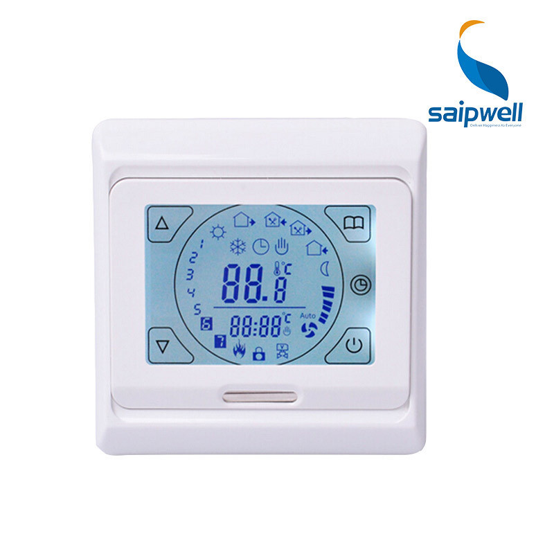 7 Day Programmable Function NTC Sensor Temperature Controller LED Digital Home Thermostat