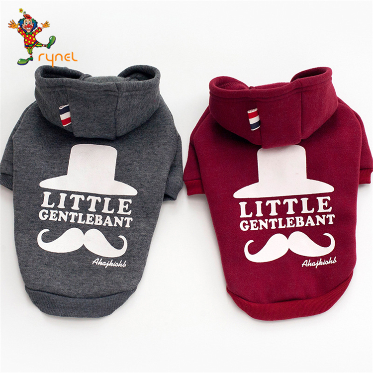 PGPC0372 Dogs Clothes For Small Dog Clothing Bulldog Pet Chihuahua Hoodie Winter Coat French Bulldog Pets Costume Autumn Cotton