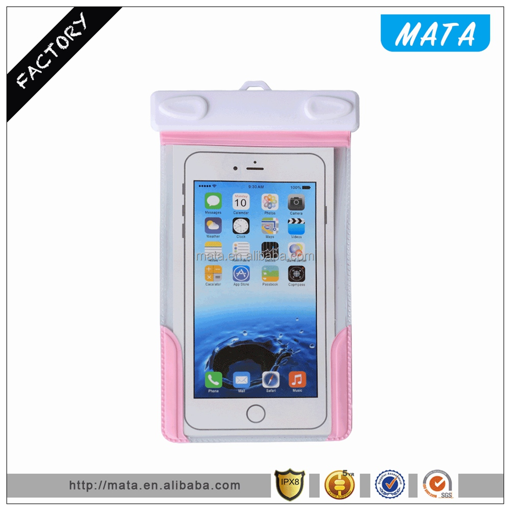 Universal Protective Waterproof Cell Phone Cases with IPX8 Certificated (up to 6' inch)