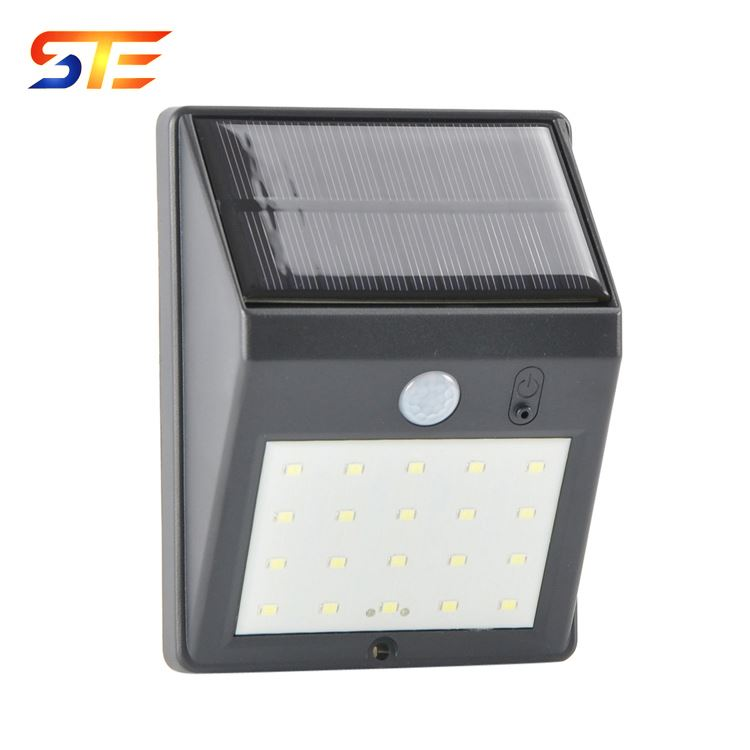 Solar 20 LED Wireless Waterproof Motion Sensor Outdoor Light for Patio, Deck, Yard, Garden with Motion Activated Auto On/Off